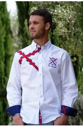 Camisa Cruz de Borgoña