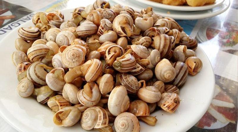 Receta de caracoles