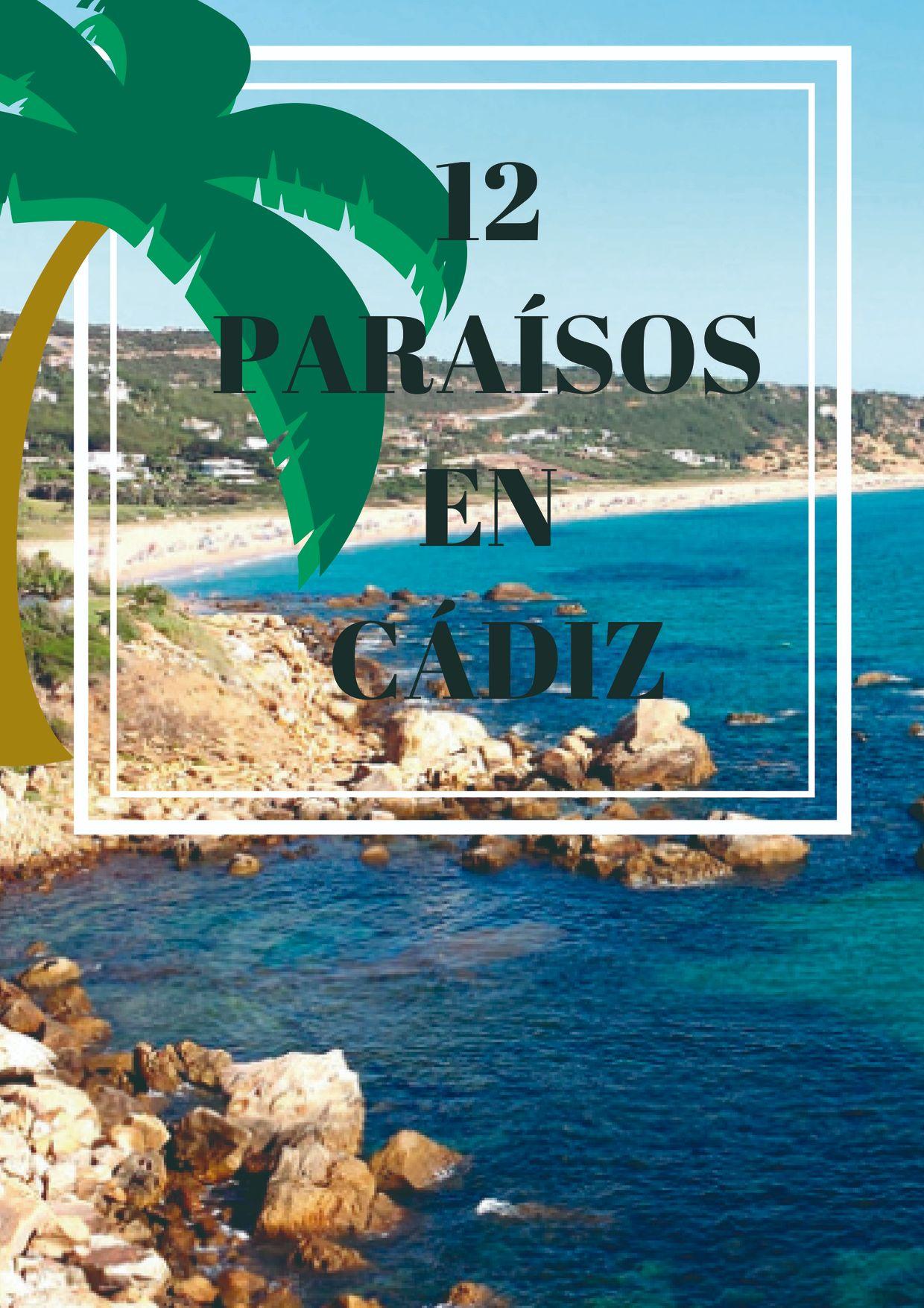 12 Paraísos en Cádiz