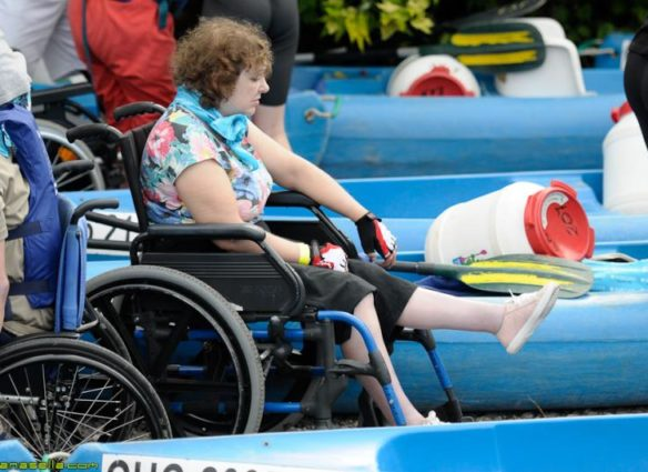 Descenso del Sella para personas con discapacidad
