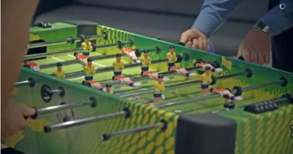 El futbolín, invento Español