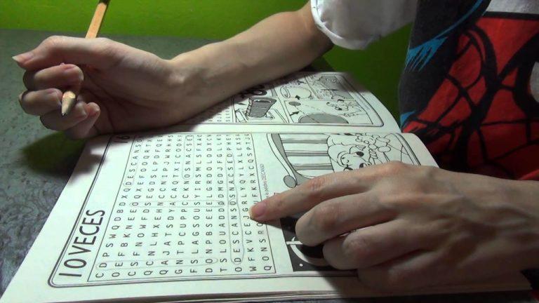 La Sopa de letras, invento Español