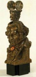 Primera estatuilla del Premio Goya