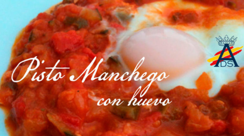Receta de Pisto Manchego con huevo