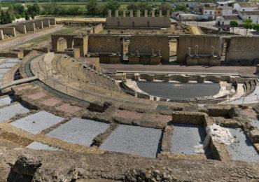 Teatro romano de Itálica, en Santiponce (Sevilla)