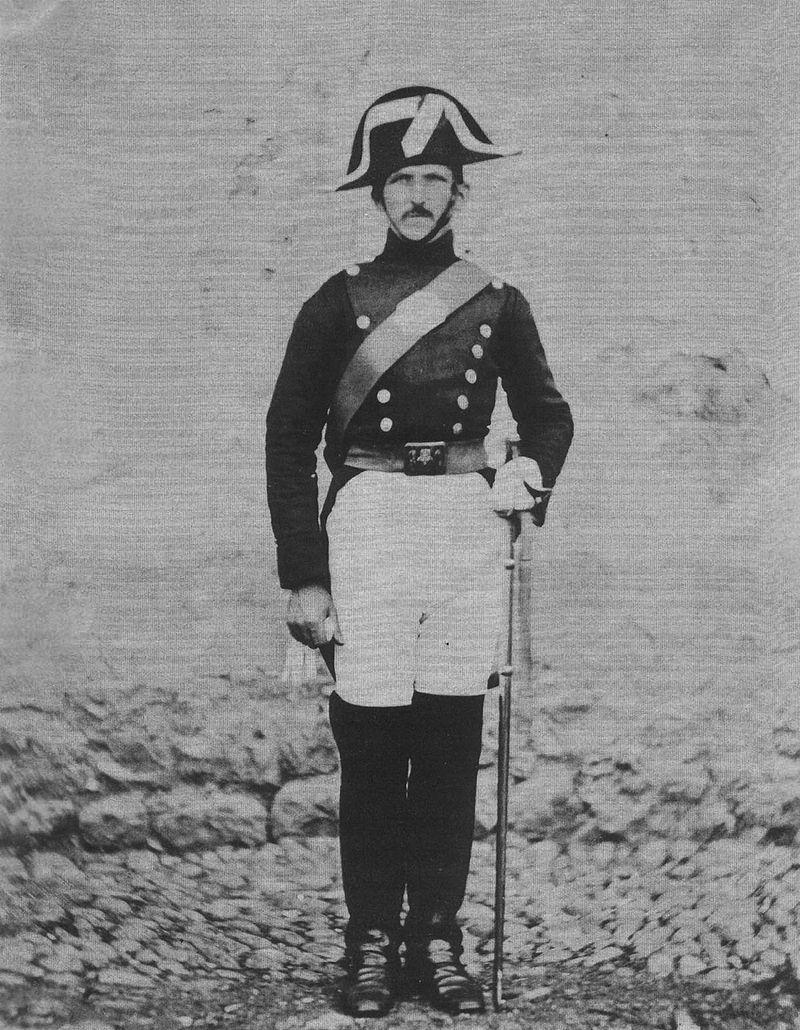 Retrato de un Guardia Civil