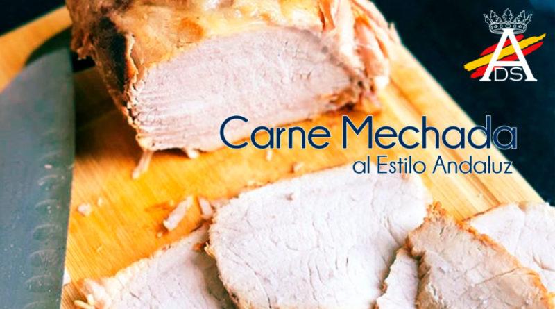 Carne mechada al estilo andaluz