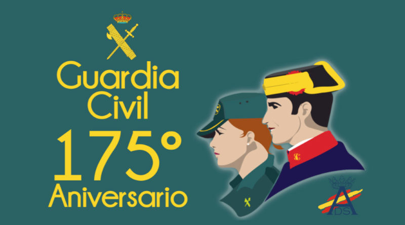 Guardia Civil: 175º Aniversario