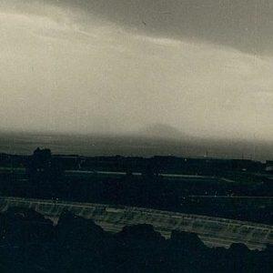 Supuesta fotografía de la Isla de San Borondón, publicada en ABC en 1958.