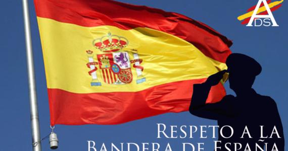 Respeto a la Bandera de España