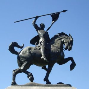Monumento al Cid en Sevilla