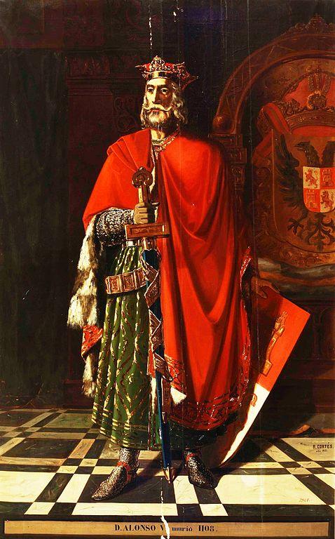 Retrato del rey Alfonso VI de León
