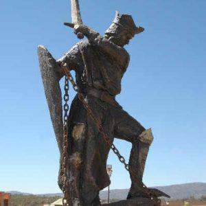 Monumento a la Batalla de las Navas de Tolosa, en Santa Elena