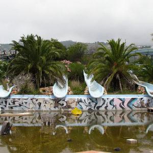 Toboganes del parque