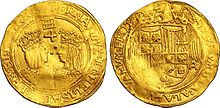 Moneda de 4 escudos de los Reyes Católicos