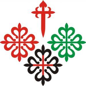Emblemas de las 4 órdenes militares españolas
