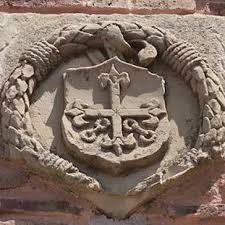 Emblema en la Encomienda Mayor de Alcañiz, Orden de Calatrava