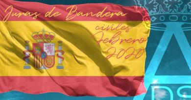 Juras de Bandera Febrero 2020