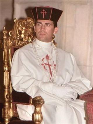 Felipe VI cuando era Caballero Comendador Mayor de Castilla de la Orden de Santiago, antes de ser Gran Maestre.