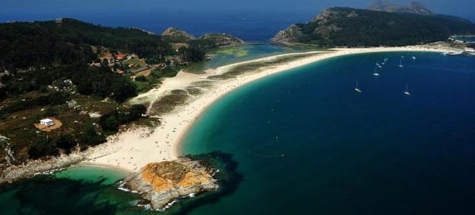 Playa de Rodas en Vigo