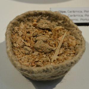 Restos de garum con los que se pudo obtener la receta original romana