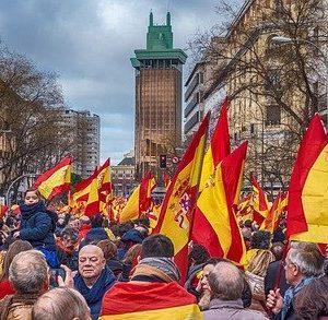 Manifestación por la unidad de España