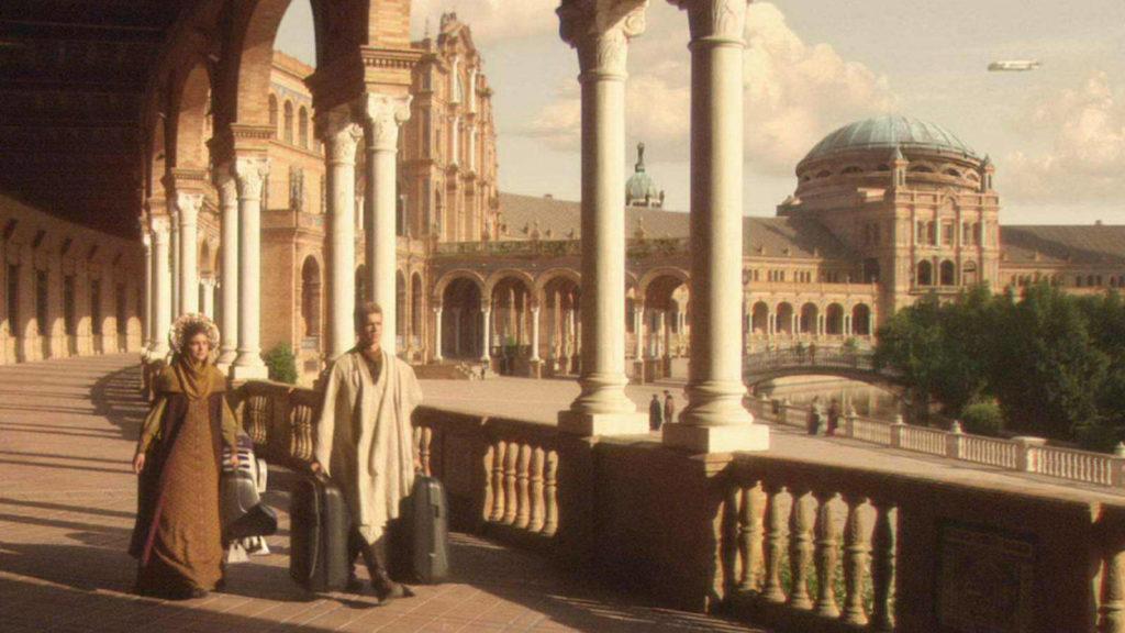 La Plaza de España en Star Wars